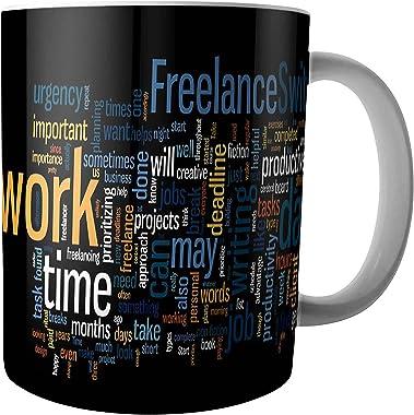 iKraft® Motivational Quote Coffee Mug Home Kitchen Milk Tea Ceramic Drinking Tea Cup with Ergonomic Handle