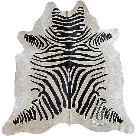 Sunshine Cowhides Cowhide Rug Zebra Black Stripes On Off White 210 X 180cm Premium Quality From Pieles Del Sol Amazon Co Uk Kitchen Home