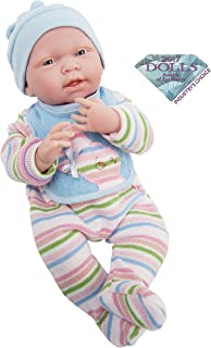 JC Toys, La Newborn All Vinyl Anatomically Correct Real Boy 15