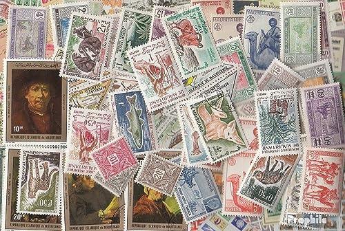 Mauritanie 300 différents Timbres (Timbres pour Les collectionneurs)
