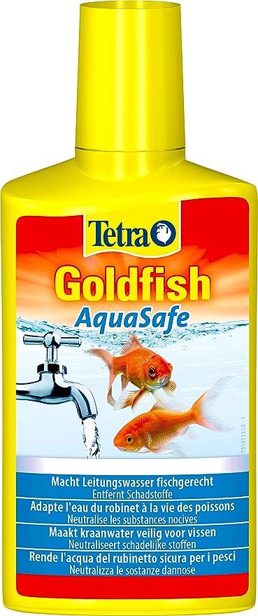 287 opinioni per Tetra Goldfish AquaSafe 250 ml, Rende l'Acqua del Rubinetto Sicura per i Pesci