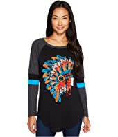 Rock and Roll Cowgirl - Long Sleeve Tee 48T3521