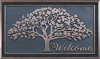 "A1 Home Collections A1HOME200126 Doormat/Oak Design/All Season/Large 30""X48"", 30"" X 48"", Shredding Tree Rubber"
