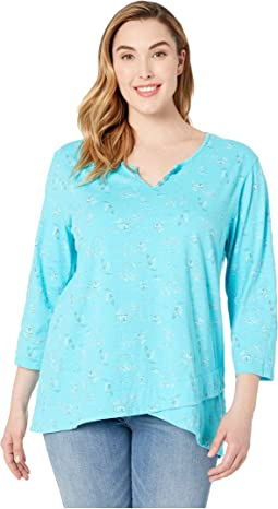 Plus Size Seaside Escape Jordan Top