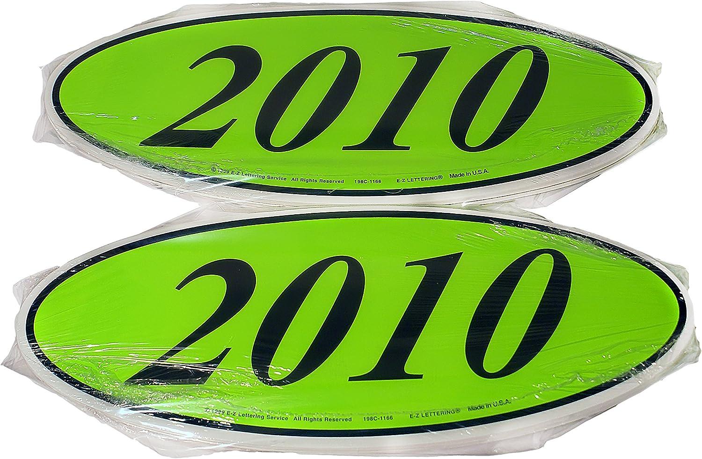 14.5 Inch Red /& Yellow Adhesive Windshield Slogan Car Dealer Sticker C/'S