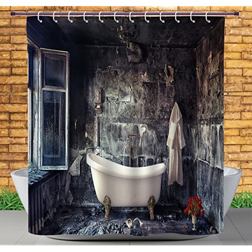 Red Bathroom Antique Decor Amazon Com