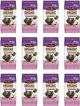 Annie Chun's Organic Seaweed Snacks, Sea Salt & Vinegar, 0.16 oz (Pack of 12), America's #1 Selling Seaweed Snacks