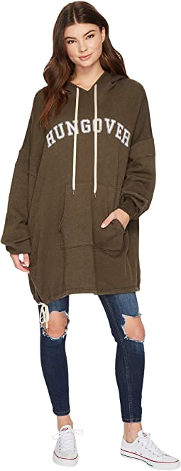 Project Social T - Hungover Oversized Hoodie