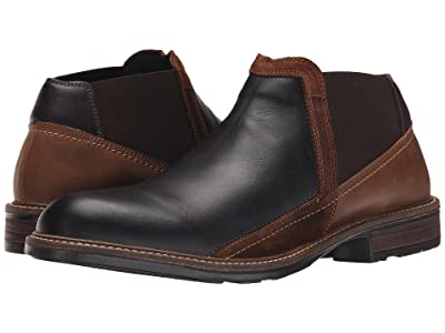 Naot Business (French Roast Leather/Saddle Brown Leather/Seal Brown Suede) Men