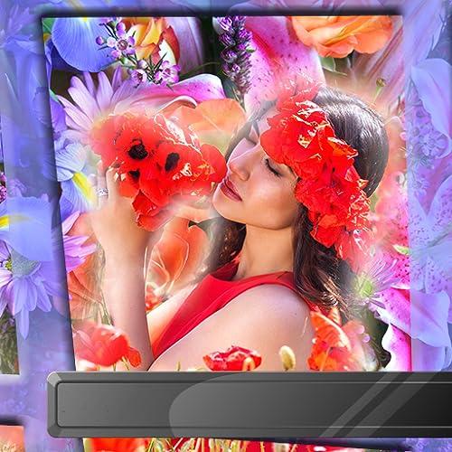 Wunderbare Blumen Bilderrahmen