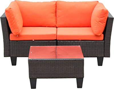 Amazon.com : Claremont Sofa with Cushions in Forest Green ...