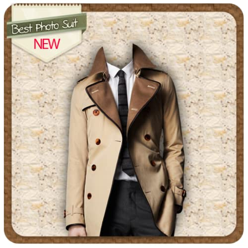 Man Trench Coat Suit Editor