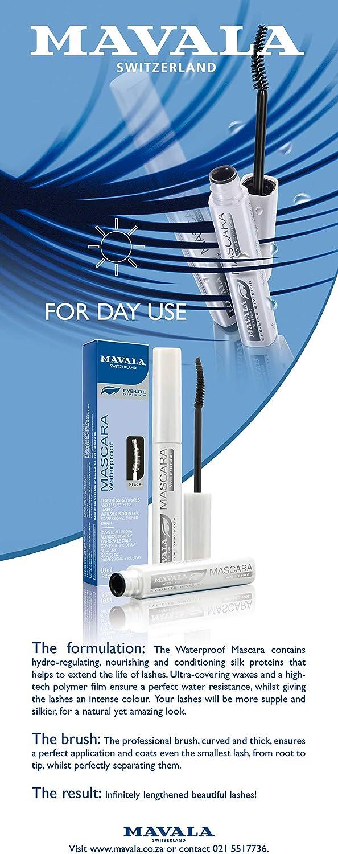 Mavala división Eye-Lite, máscara a prueba de agua 10 ml