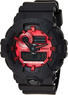 Casio Analog-Digital Red Dial Men's Watch-GA-700AR-1ADR (G1001)