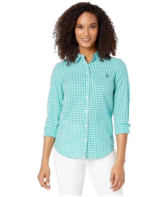 U.S. POLO ASSN. Plaid Woven Shirt
