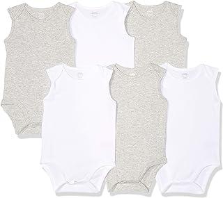 Girls' Infant 6-Pack Sleeveless Bodysuits