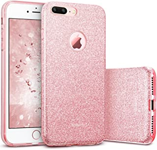 ESR iPhone 7 Plus Case,Glitter Sparkle Bling Case [Three Layer] for Girls Women [Shock-Absorption] for 5.5