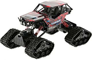 Extreem Hobby CIS-337639 1: 12 Scale Truck with Tracks & Wheels, One, Color May Vary, Red, Blue, Green