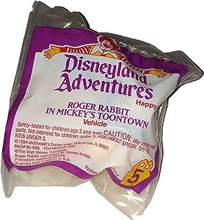 McDonald's Happy Meal Disneyland Adventures Roger Rabbit in Mickey's Toontown
