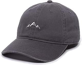 Mountain Dad Hat - Unstructured Soft Cotton Cap