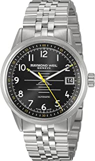 Raymond Weil Men's 'Freelancer' Swiss Automatic Stainless Steel Casual Watch, Color:Silver-Toned (Model: 2754-ST-05200)