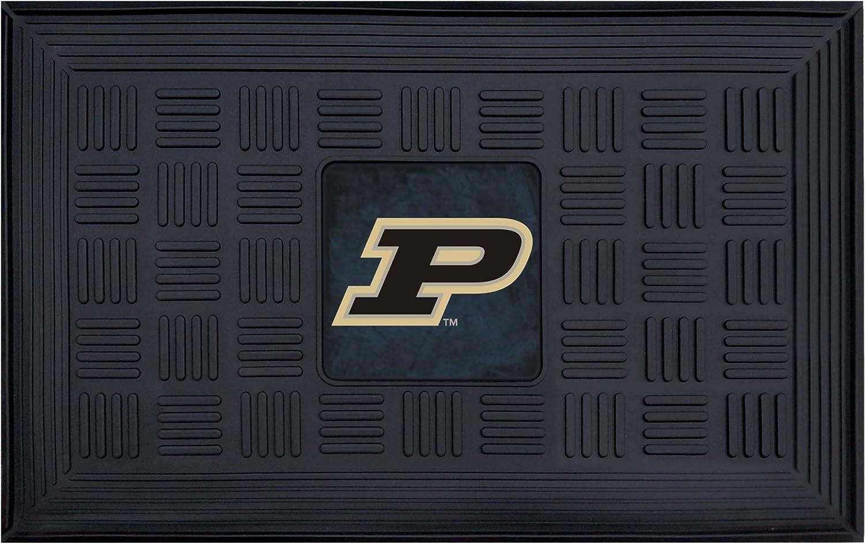 FANMATS NCAA Purdue Low price University Mat cheap Door Vinyl Boilermakers