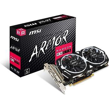 MSI Radeon RX 570 ARMOR 8G グラフィックスボード VD6851