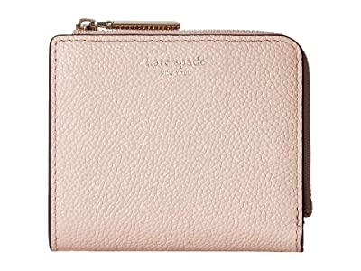 Kate Spade New York Margaux Small Bifold Wallet (Pale Vellum) Bi-fold Wallet