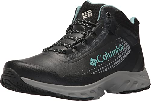 Columbia Wohommes IRRIGON Trail MID Outdry XTRM Hiking démarrage, noir, Iceberg, 10 Regular US