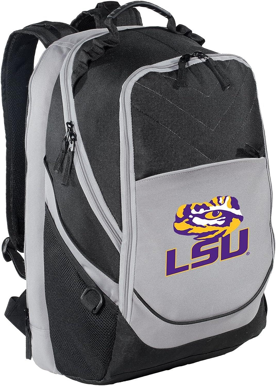 LSU Tigers Backpack LSU Laptop Computer Bag