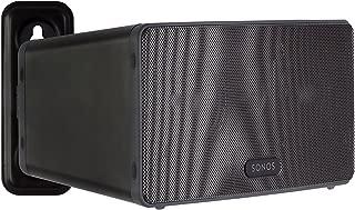 Mount-It! SONOS Speaker Wall Mount Bracket for SONOS PLAY:3 Adjustable Speaker Bracket, Low-Profile Steel Design, Black 5.7 Lbs Capacity