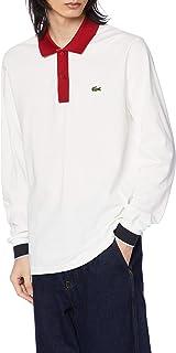[ラコステ] ポロシャツ [公式] Made in France トリコロールデザインロングスリーブポロシャツ メンズ PH1873L