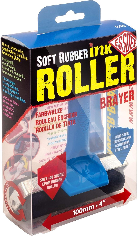 ESSDEE Ink Roller 3.94 Inch - Heavy 40 Free Shipping New EPDM New item Duty Shore Rubb Soft