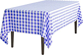 LinenTablecloth 126 Inch Rectangular Polyester Tablecloth