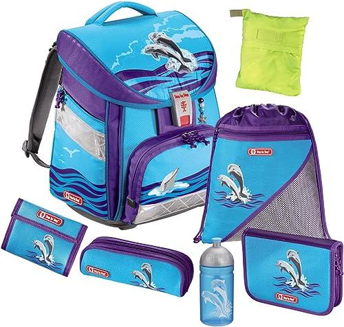 Step by Step Comfort Happy Dolphins Schulranzen Set 7tlg.