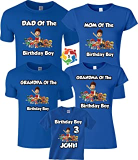 paw patrol first birthday shirt