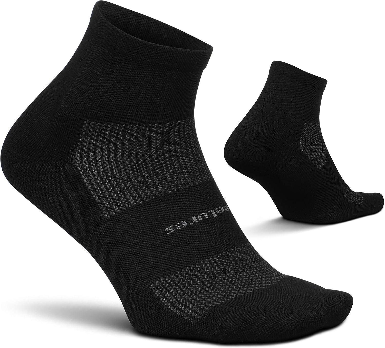 Feetures unisex-adult High Performance Cushion Quarter