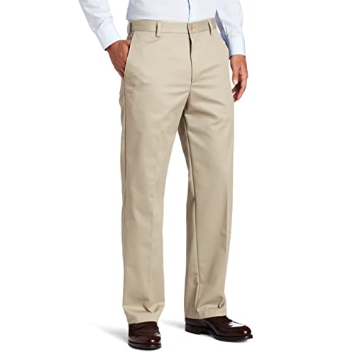 ab73fe8683309 IZOD Men's American Chino Flat Front Straight Fit Pant