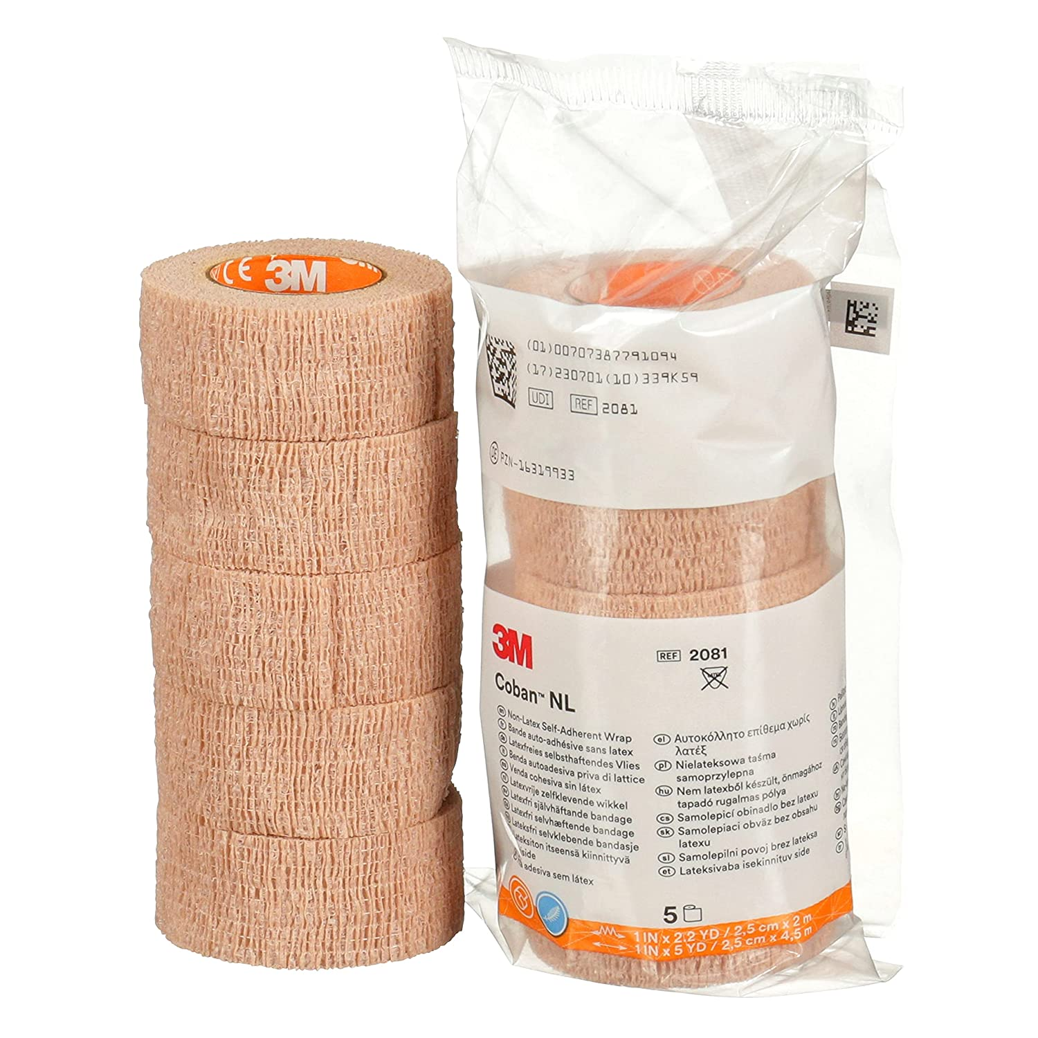 3M Coban NL safety Non-Latex Self-Adherent Wrap with Hand Tear 1 Max 72% OFF 2081