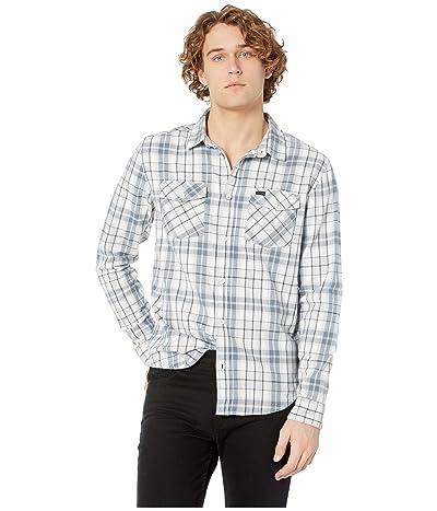 RVCA Watt Flannel Long Sleeve (Mirage) Men