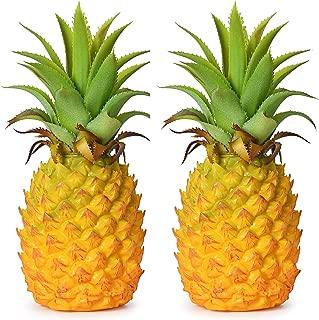 artificial pineapple decoration fruit