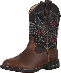 Spider Lighted Cowboy Boots (Toddler/Little Kid)