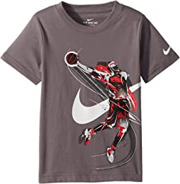 Nike Kids Brush Basketball Player Tee (Little Kids)