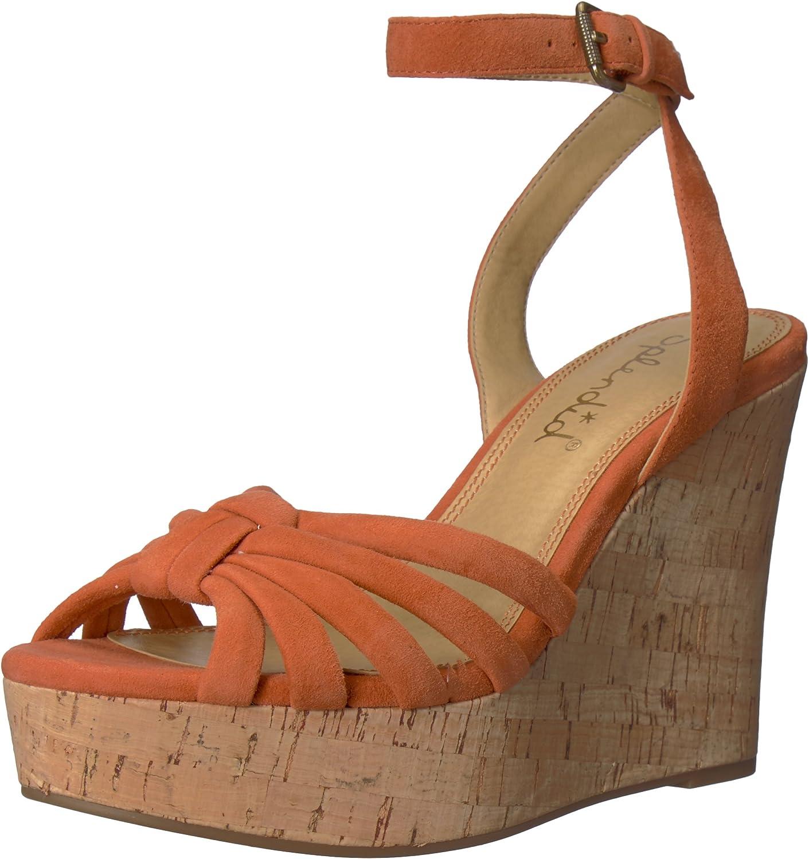 Splendid Womens Fallon Wedge Sandal