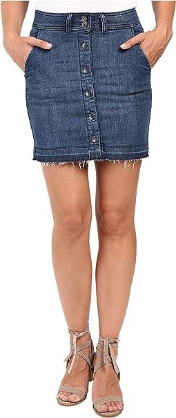 Cesarie Indigo Skirt