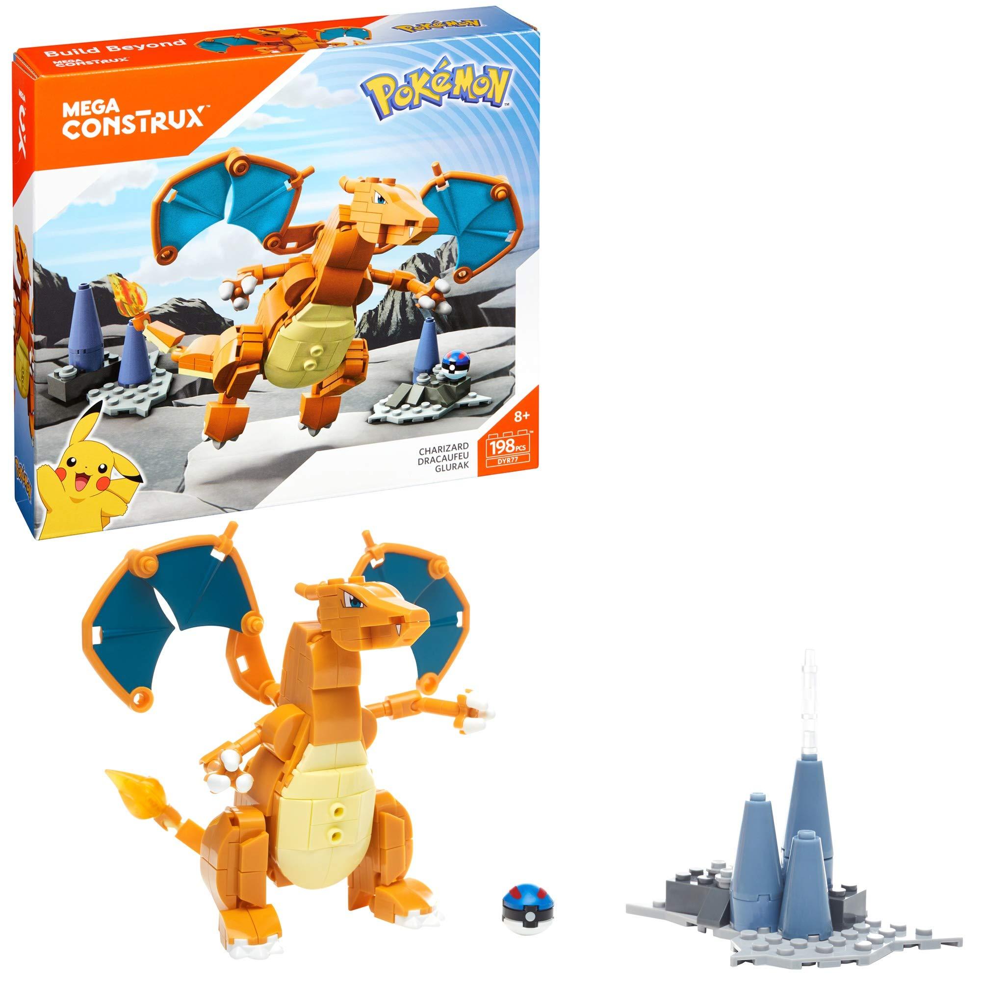 Mega Construx Pokemon Buildable Playset Mattel FPM09 3 Piece
