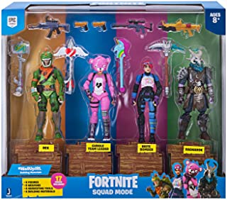 Fortnite Squad Mode Figuras de acción Squad Mode (4 Figuras)