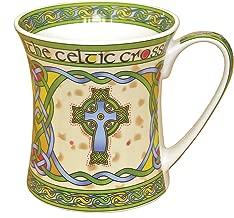 Royal Tara Irish Celtic High Cross Bone China Mug