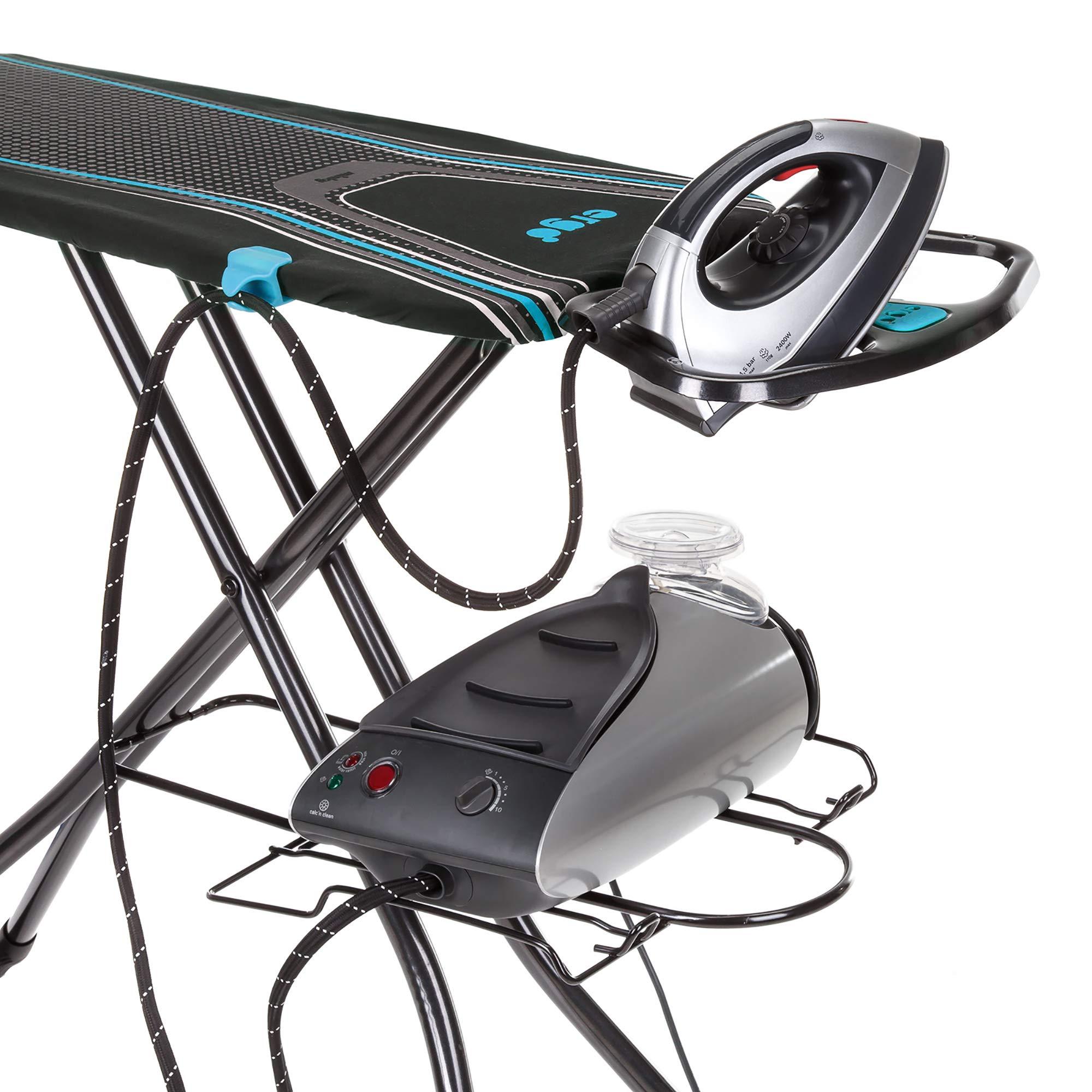 "Minky Homecare Ergo Plus Ironing Board, 48"" x 15"", Black Multi"
