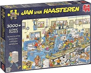 JUMBO Jan Van Haasteren The Printing Office Jigsaw Puzzle (3000 Piece)